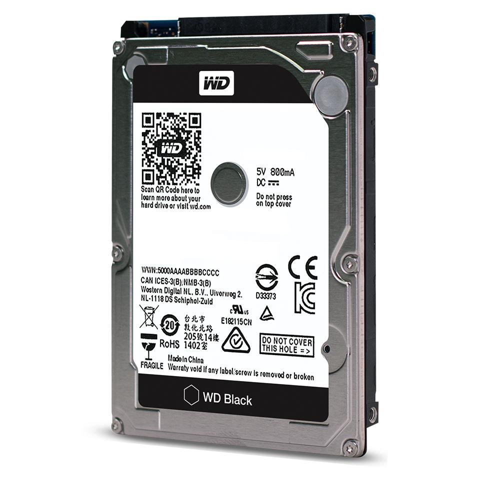 WD BLACK PERFORMANCE MOBILE HARD DRIVE 1