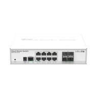 Коммутатор 8 портов MikroTik Cloud Router Switch CRS112 CRS112-8G-4S-IN