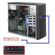 Шасси Mid-Tower SuperMicro CSE-732I-500B