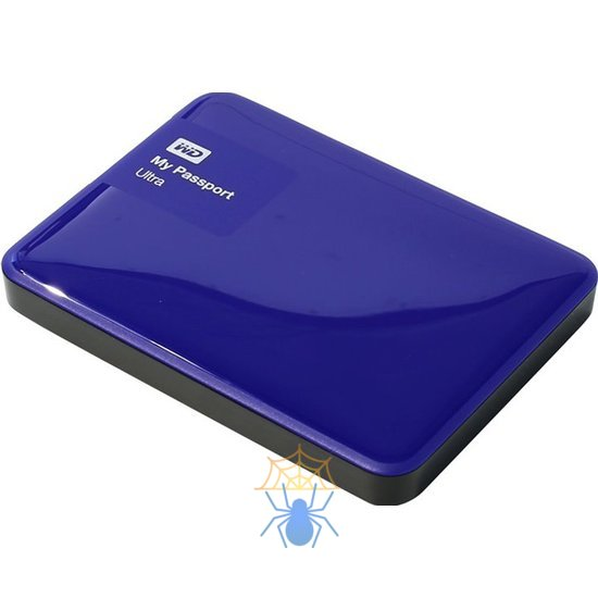 Внешний жесткий диск Western Digital My Passport Ultra 1 Тб WDBDDE0010BBL фото
