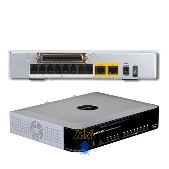 VoIP-шлюз Cisco Small Business SPA8000-XU